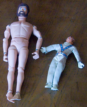 GI Joe and Evel Kinevel