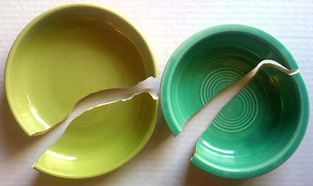 Broken FiestaWare